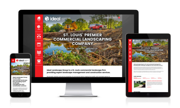 Ideal Landscape Group's New Website