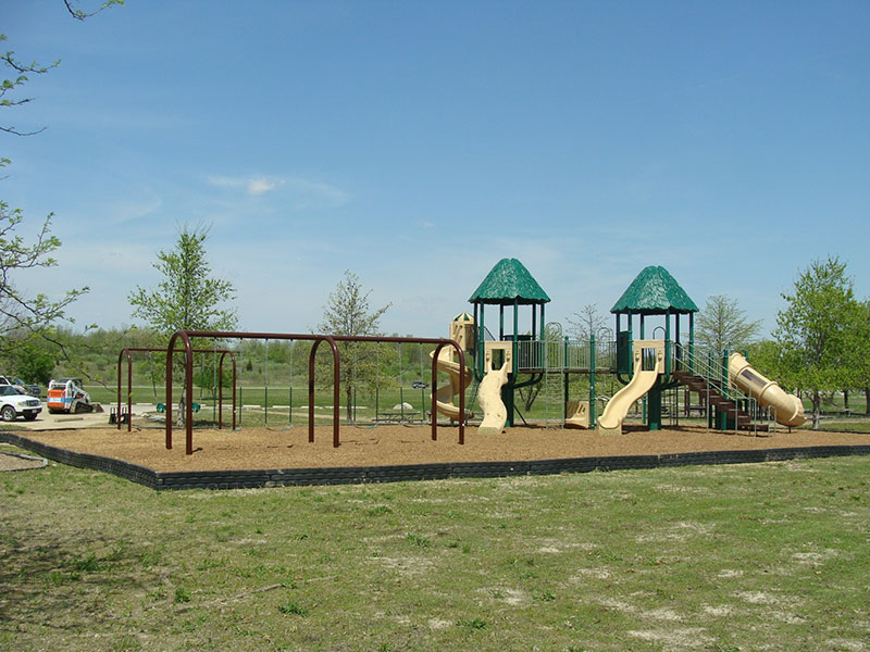 Lake Shelbyville playground