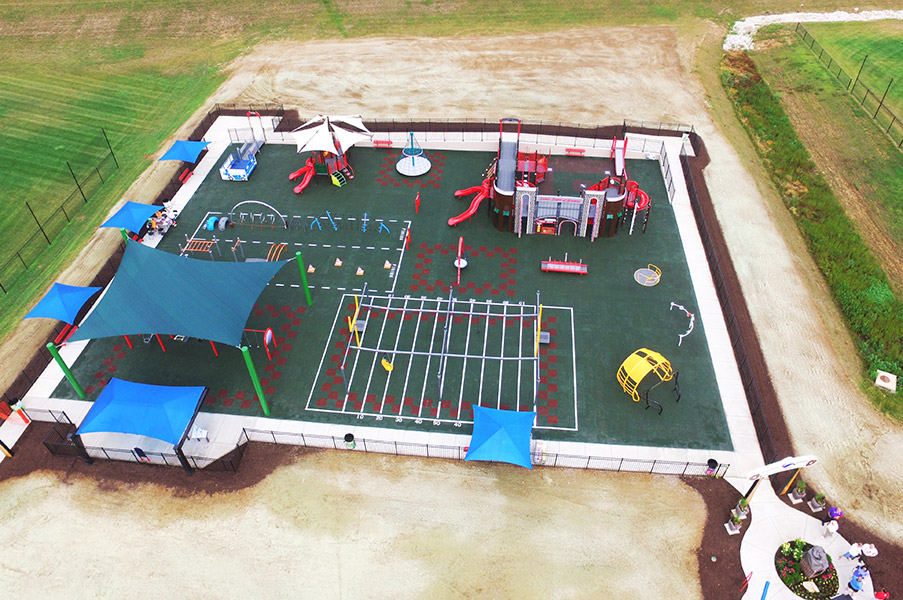 Playground Construction For Children With Disabilities